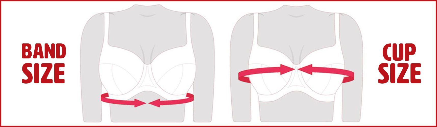 measure bra size at home