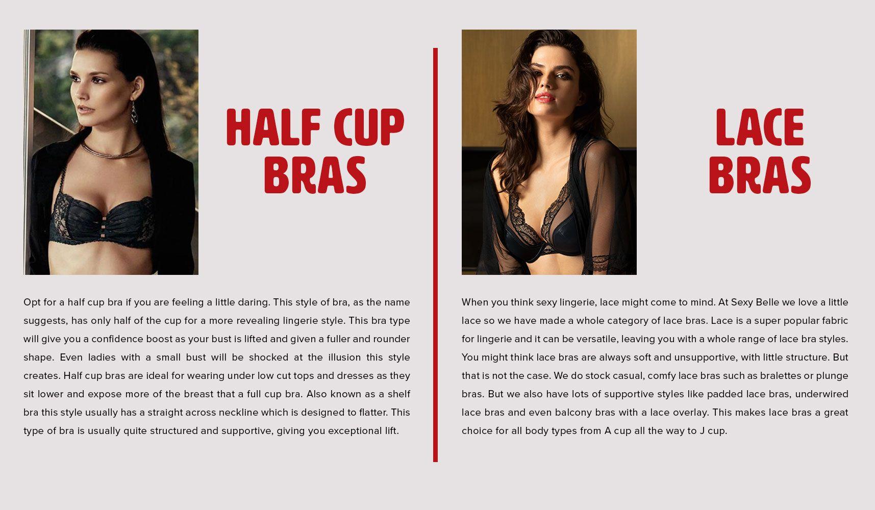 bra styles explained