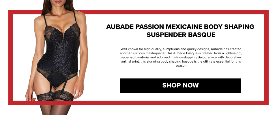 AD02 Aubade Passion Mexicaine Body Shaping Suspender Basque