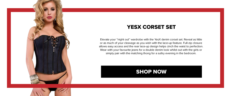 YX805 YesX Corset Set