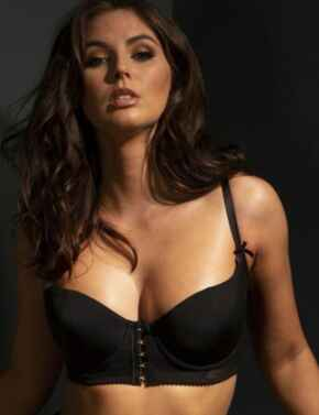 51000 Contradiction by Pour Moi Hook Up Bra - 51000 Black