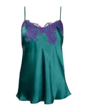 ALC4280 Lise Charmel Splendeur Soie Camisole Top - ALC4280 Splendeur Turquoise