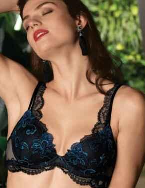 ACG8508 Lise Charmel Nuit Elegance Moulded Push Up Bra - ACG8508 Nuit Spahir