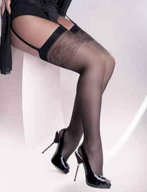 Gabriella Katia Plus Size Stockings - Nero (Black)