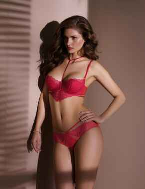 CCG0023 Antinea by Lise Charmel Tendre Capture Tanga Brief  - CCG0023 Rouge Capture