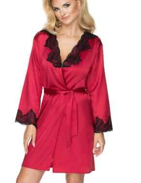 Irall Juniper Dressing Gown  - Burgundy