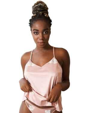 TL141 Tallulah Love Hidden Pearl Camisole - TL141 Shell Pink