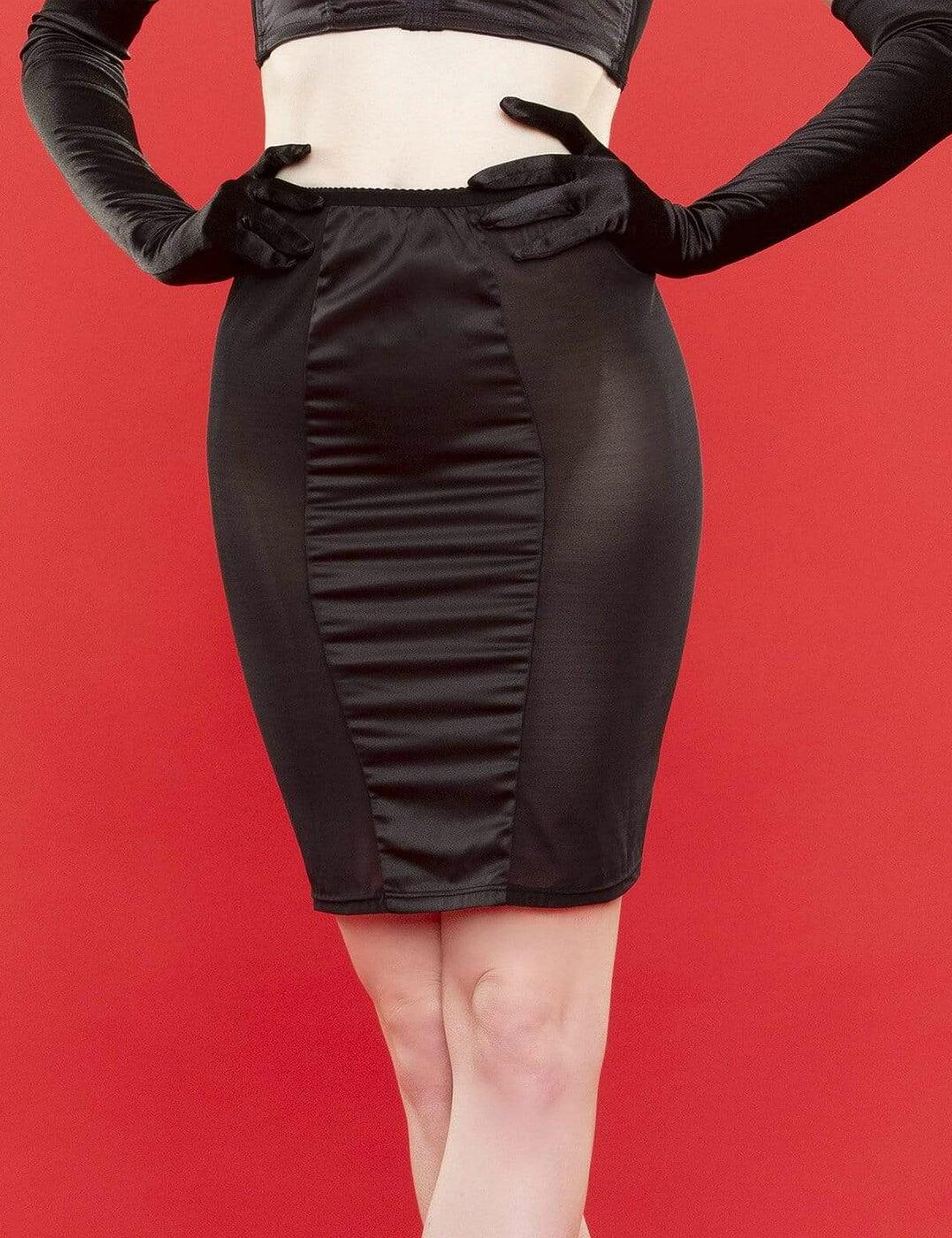 BP031T Playful Promises Bettie Page Tassle Skirt - BP031T Black