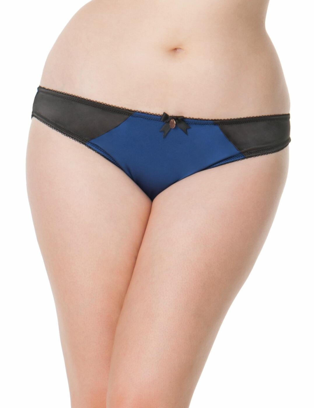 ST2505 Scantilly by Curvy Kate Invitation Brief - ST2505 Blueberry/Black