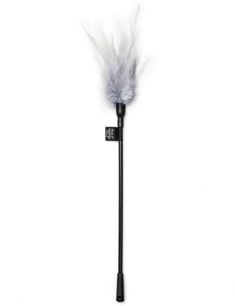 E24216 Fifty Shades of Grey Feather Tickler - E24216 Black/Grey