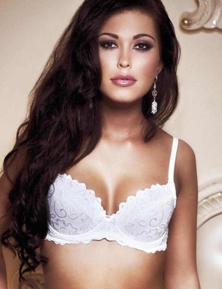 Roza Penelopa Push Up Bra - White