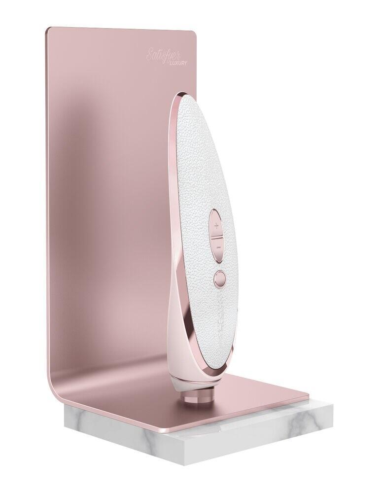 E28576 Satisfyer Luxury Pret A Porter Vibrator - E28576 White/Pink