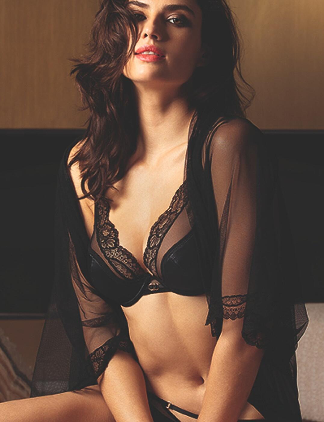 ACG7430 Lise Charmel Nouvel Eros Glam Push Up Bra - ACG7430 Noir