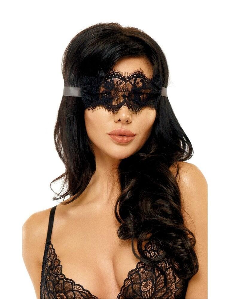 BN6576 Beauty Night Eve Mask - BN6576 Black