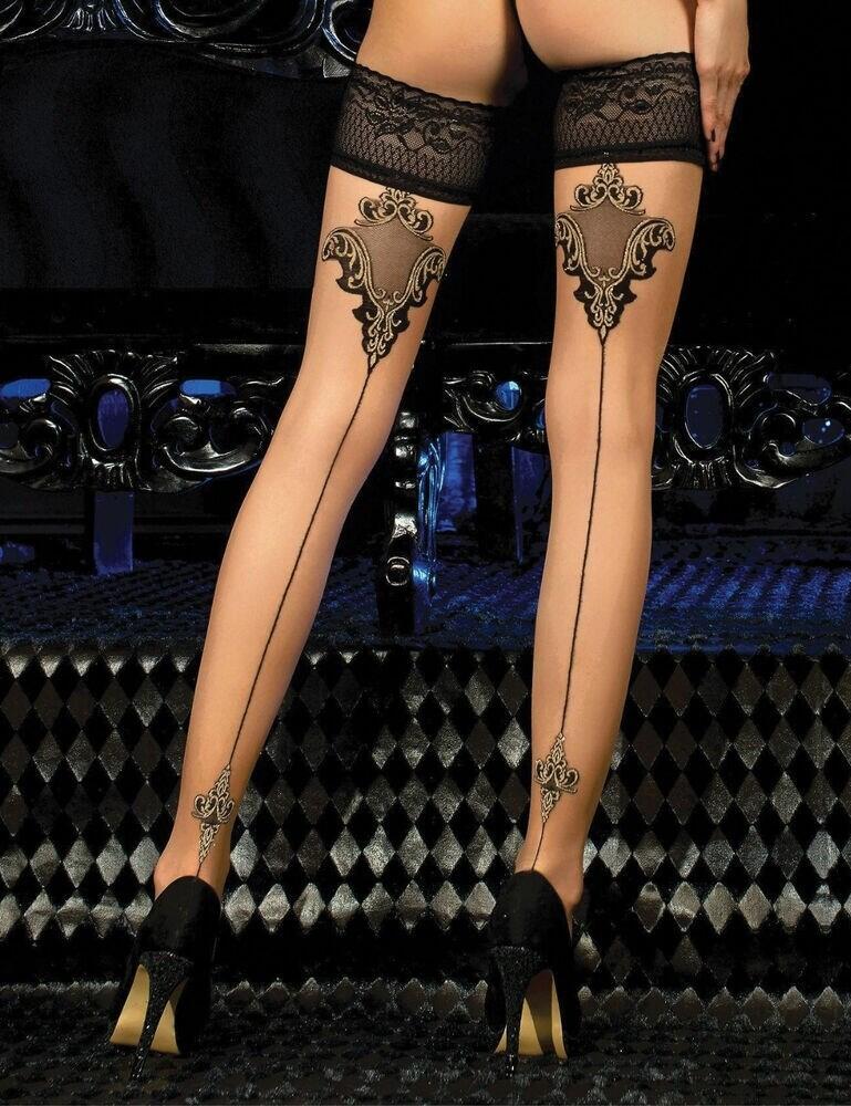453 Ballerina 20 Denier Hold Ups - 453 Skin