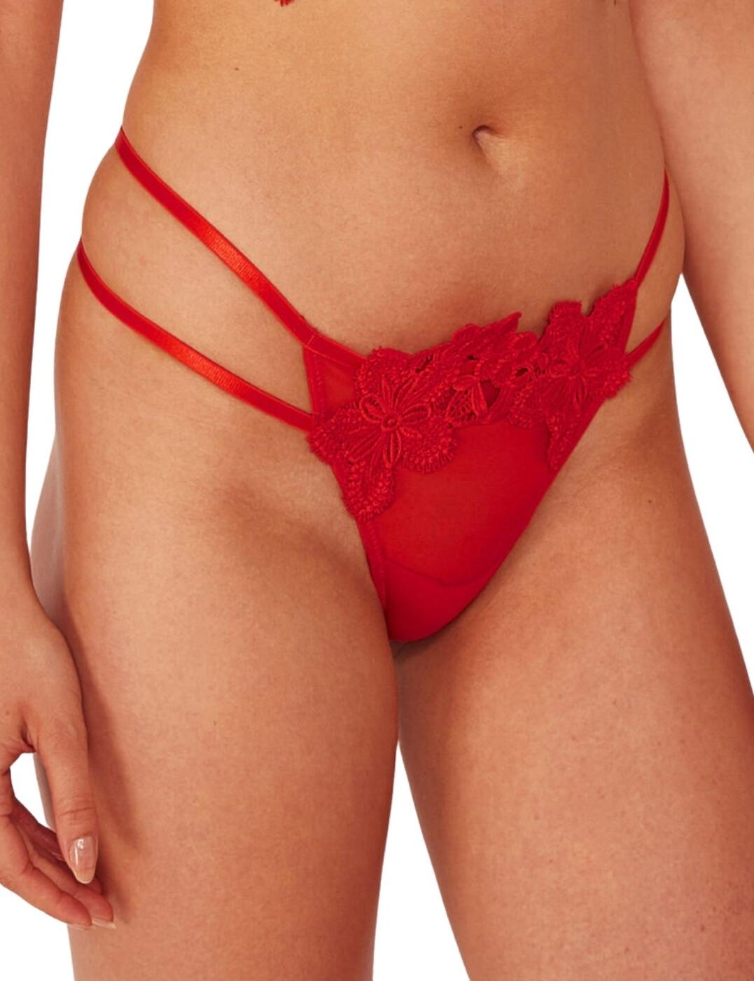 WWL726 Wolf & Whistle Alyssa Brief - WWL726 Red