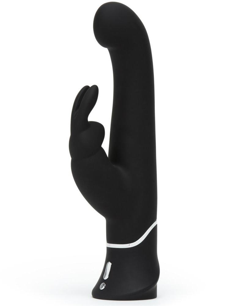 E27824 Happy Rabbit G-Spot Stroker Rabbit Vibrator - E27824 Black