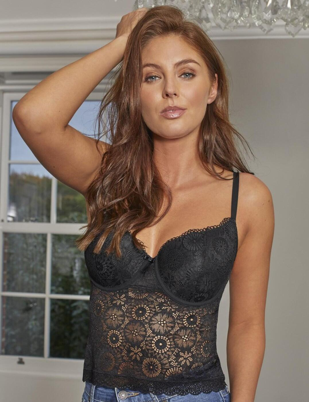 182921 Contradiction by Pour Moi Love Padded Cami Top - 182921 Black