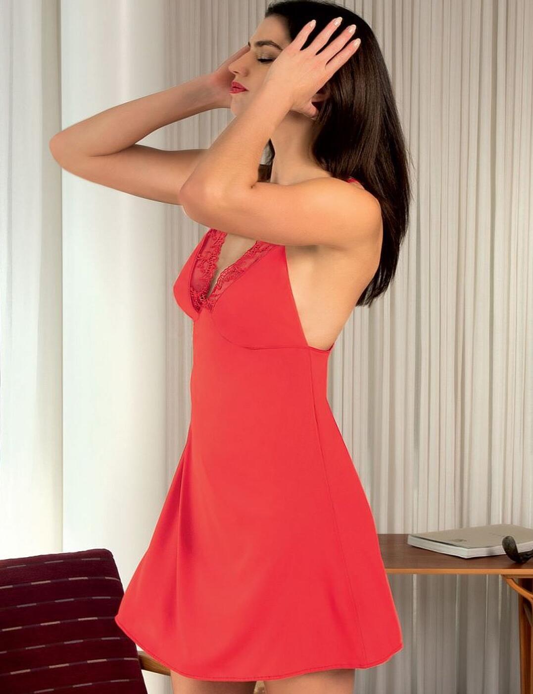 Lise Charmel Charme Futur Sexy Nightdress Rouge