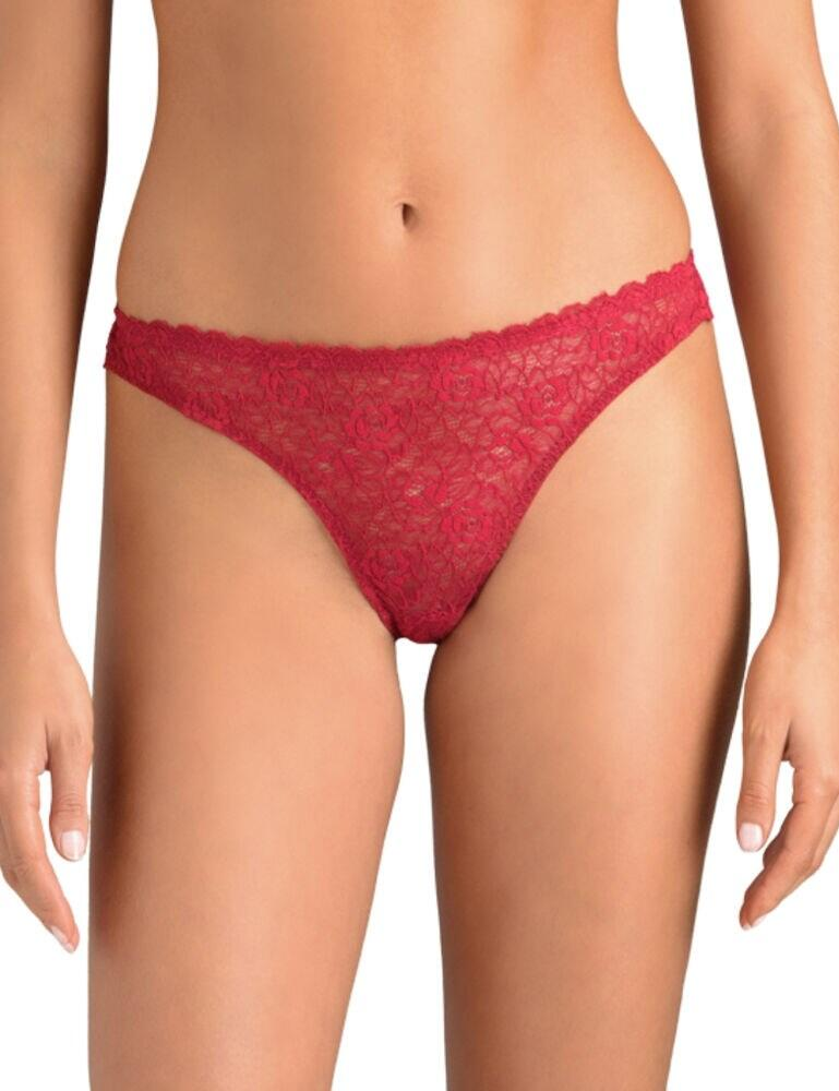 Muse by Coco De Mer Open Thong Raspberry