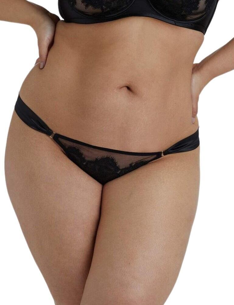 Playful Promises Anneliese Curve Brazilian Brief Black