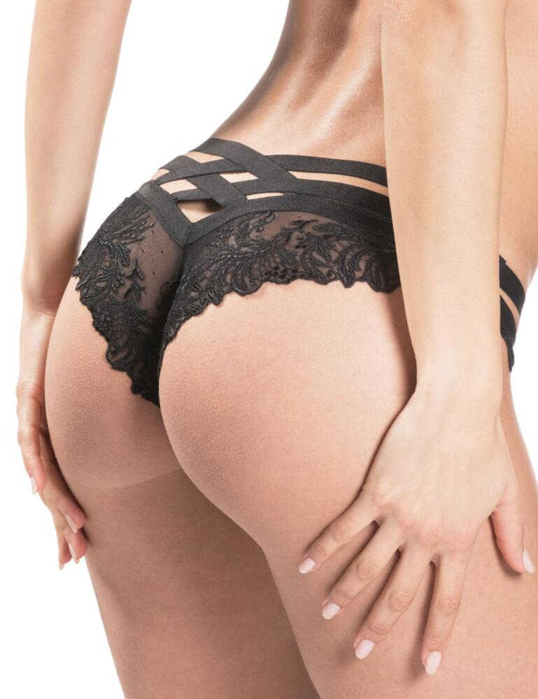 Aubade Femme Passion Brazilian Bikini Brief in Noir