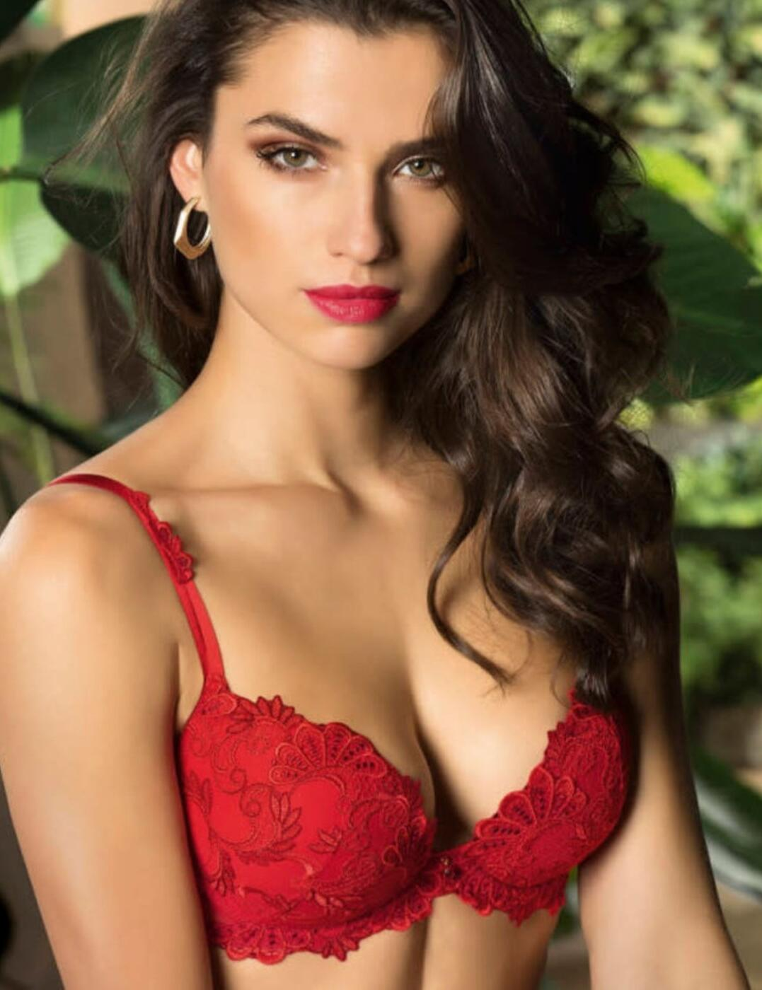 Lise Charmel Dressing Floral Contour Bra in Dressing Solaire