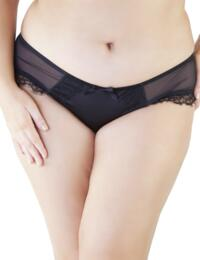 PPCCB2016 Playful Promises Isadora Curve Plus Size Brief - PPCCB2016 Black