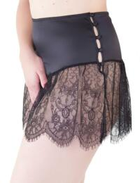 BP013 Playful Promises Bettie Page Retro Lace French Knicker - BP013 Black