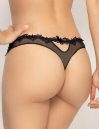ACA0903 Lise Charmel Soir De Venise Sexy String Thong - ACA0903 Noir Diamante