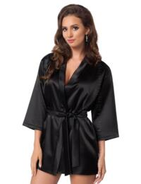 Irall Aria Robe Dressing Gown - Black
