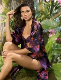 ALG2009 Lise Charmel Foret Lumiere Negligee - ALG2009 Foret Pourpre