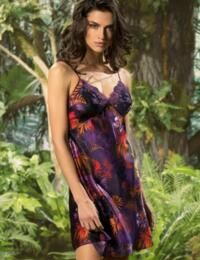 ALG1009 Lise Charmel Foret Lumiere Nightdress - ALG1009 Foret Pourpre