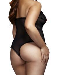 E27075 Baci Lace Bodysuit - E27075/3112 Black