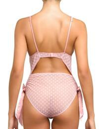 ROX-022-04 Coco de Mer Muse Roxanne Bodysuit - ROX-022-04 Pink