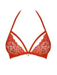 838-BRA-3 Obsessive Lace Bra - 838-BRA-3 Red