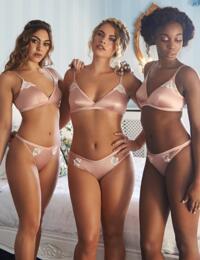 TL116 Tallulah Love Hidden Pearl Bralette Bra - TL116 Shell Pink
