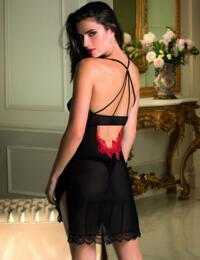 Lise Charmel Baisers De Fleurs Nightdress Nuit Amarante