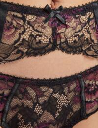 QA50 Aubade Aube Amoureuse Suspender Belt in Violetta