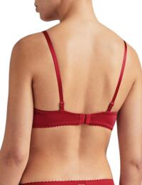 Aubade Aube Amoureuse Plunge Bra in Amour Red