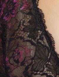 Aubade Aube Amoureuse Comfort Triangle Plunge Bra in Violetta