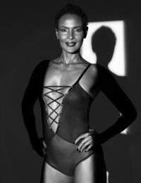 Coco De Mer Medusa Bodysuit in Black