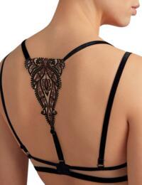 Aubade Coeurs Enlaces Triangle Bra Serenade Black