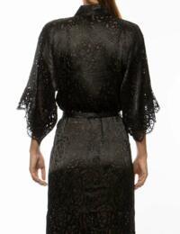 Lise Charmel Dressing Floral Robe Noir